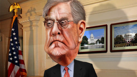David Koch – Caricature