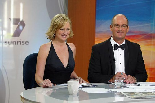 Kochie and Mel